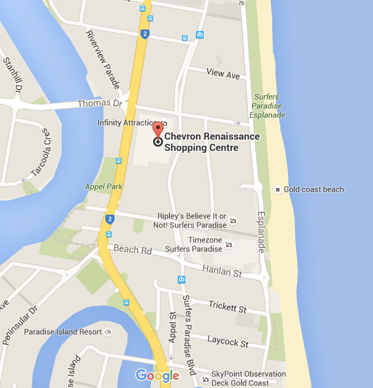C R Google Map